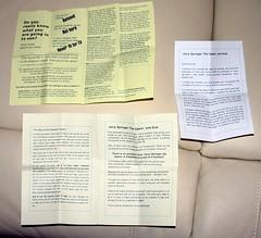 Jerry Springer Leaflets