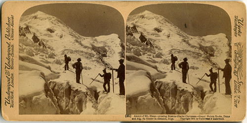 Stereoview: MontBlanc