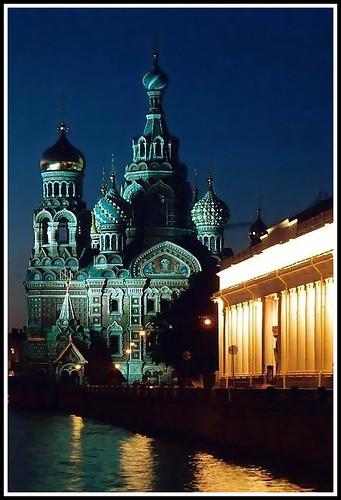 Saint Petersburg colors