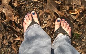 flip flops in march