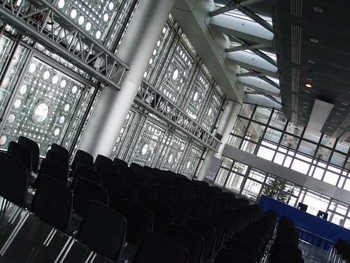 A conference room in Institut de Monde Arabe
