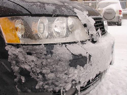 Blizzard Meets Audi