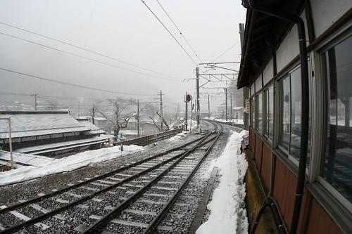 Yamadera temple Station