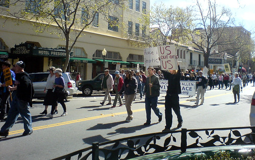 War demo in Palo Alto