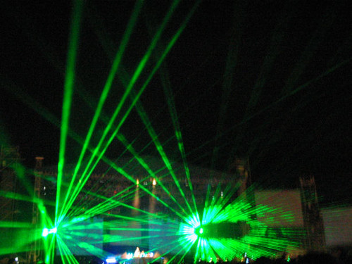 Tiesto - Laser Show