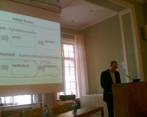 Dagbladets modell: seminarium i Oslo