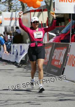 Doreen runs the Geneva Marathon