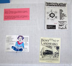 Zines at Tutt Library