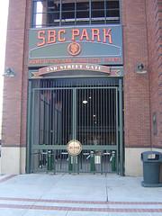 SBC Park - 2nd Street Gate