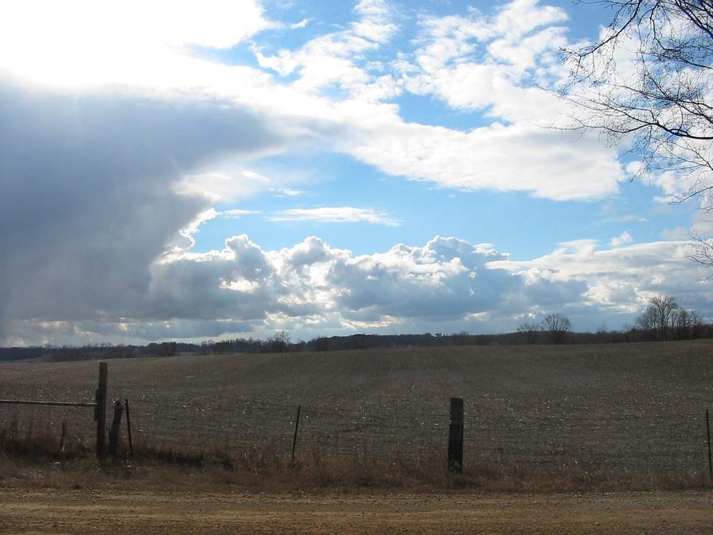Winter/spring sky
