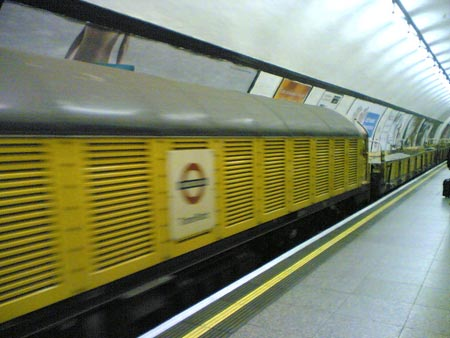 Big Yellow Duster? at Euston taken by Frankie Roberto