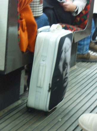 Marilyn Monroe Luggage