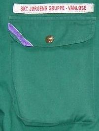 Fru Greens ene uniformslomme