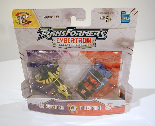 Cybertron Sunstorm and Checkpoint