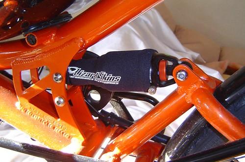 Rear shock boot / 後ろのサスペンションのカバー