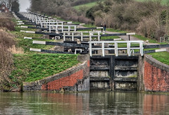 Caen Hill Locks, Devizes HDR 4153 photo by Keith Marshall