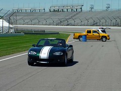 Bucky's F1 adventure
