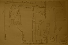 Our floorplan: Draft 1