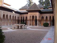 Patung2 Singa Dalam Palacio Nazaries di Alhambra, Granada, Spain