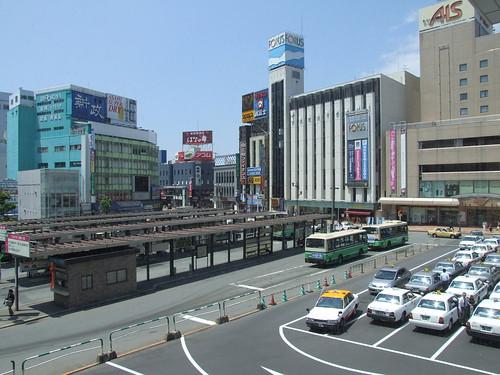 akita city station area