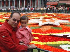 Flower Carpet - Rafa and Daniela