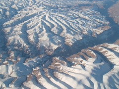 View over Afghanistan
