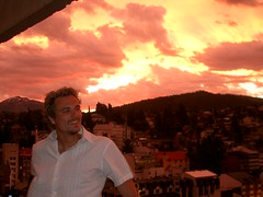 Bariloche - 22 - Matt sunset