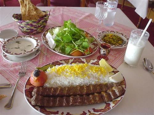 Chelo Kabab - E - Kubideh