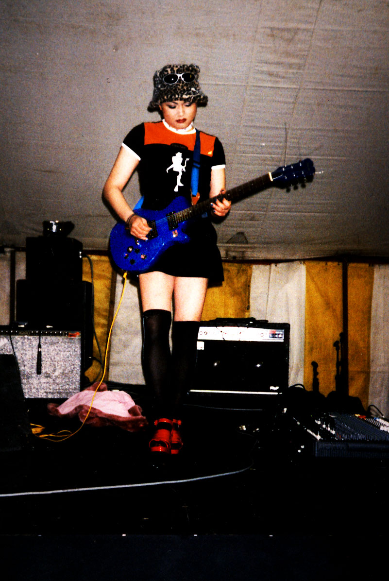 Onstage at Pride '96, Clapham Common