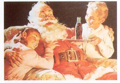 Santa Claus Coca Cola