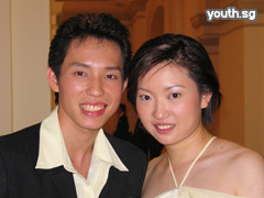 Sports couple: Ronald Susilo and Li Jia Wei