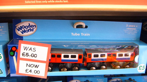 Reduced Price Wooden Tube Train