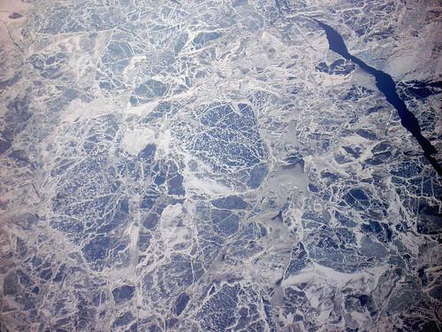 flying over SIBERIA