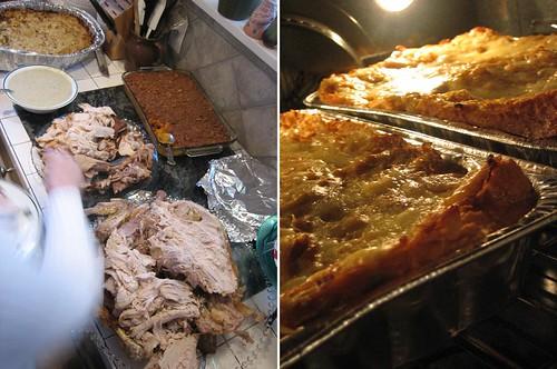Turkey, panade and casseroles