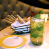 The Terrace Pointe Cafe's Pineapple Mojito.