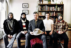 Akron/Family with Michael Gira[center]