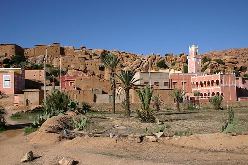 Tazekka village anno 2005