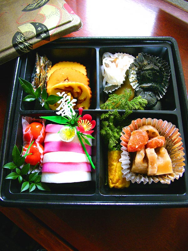 new year osechi
