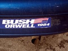 Orwell/Bush