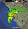 San Francisco weather radar on 2 Jan 2006