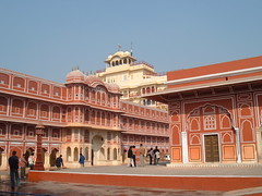 A view to the Maharaja's Quarters