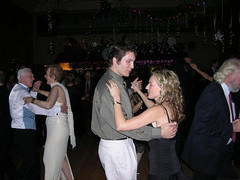Geoff and Nicole dancing