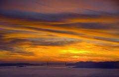 Bay Sunset from Wildcat Peak