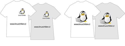 Modelos poleras LinuxChillan