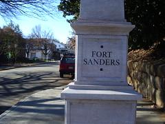 Fort Sanders column