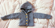 Old Projects Baby Sweater
