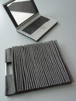PLISSEE-ONEPIECE laptopbag felt