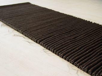 PLISSEE-ONEPIECE rug felt