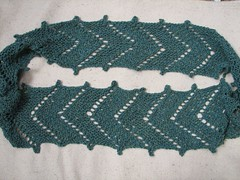 arrow pathways scarf