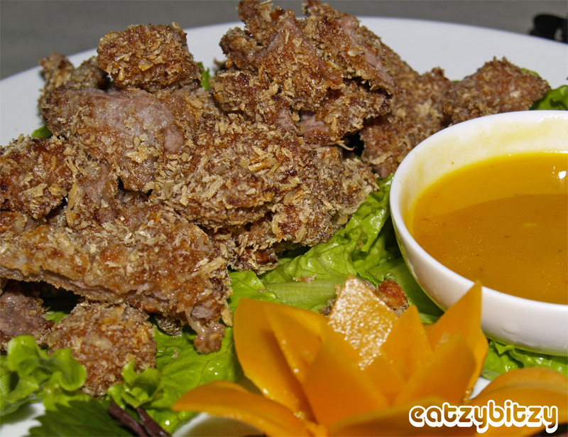 Pan Fried Beef with Coconut-Milk Sauce